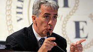 Controversial tea party-backed freshman Rep. Joe Walsh, in a tough race for re-election against Democrat Tammy Duckworth, said Thursday he would skip a visit to the Republican National Convention in Tampa at the end of next month.