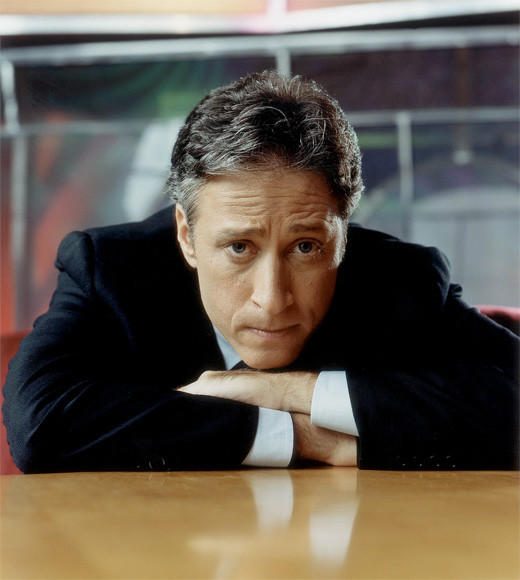 """The Colbert Report""<br /><b>""The Daily Show with Jon Stewart""</b><br />""Jimmy Kimmel Live""<br />""Late Night With Jimmy Fallon""<br />""Real Time With Bill Maher""<br />""Saturday Night Live""<br /><br />"