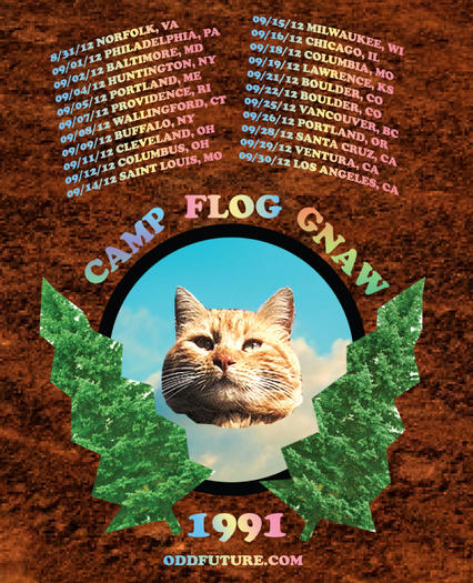Odd Future ... includes a Norfolk stop on its fall tour.