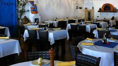 Estia Greek Taverna: Man can't live on flaming cheese alone