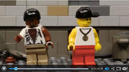 'The Wire' redone with Legos