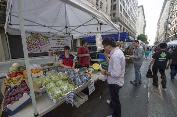 Historic Downtown Los Angeles farmers market