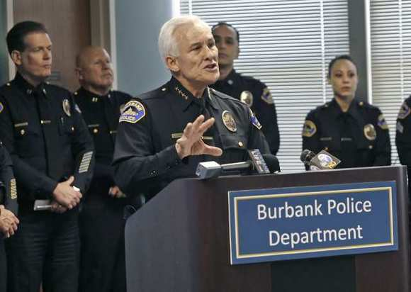 Burbank Interim Police Chief Scott LaChasse.