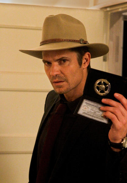 "Another high-profile star who was overlooked was Timothy Olyphant of FX's ""Justified."" He was nominated last year for lead actor in a drama. As for the series, its sole marquee nod went to Jeremy Davies for guest actor in a drama. <style type=""text/css"">