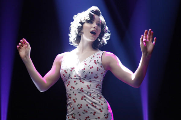 "There were high hopes for ""Smash,"" starring Katharine McPhee, shown here, but not much razzle-dazzle at the Emmy nominations. Its choreography and guest actress Uma Thurman did get nods."