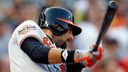 Orioles' Nick Markakis sizzling since moving to leadoff spot