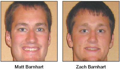 Matt and Zach Barnhart