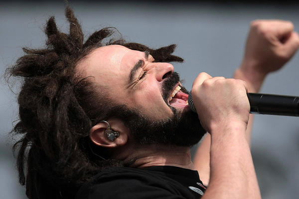 Counting Crows frontman Adam Duritz is known for his maudlin lyrics.  Let's hope the singer finds something to be happy about this birthday.  He turns 46.