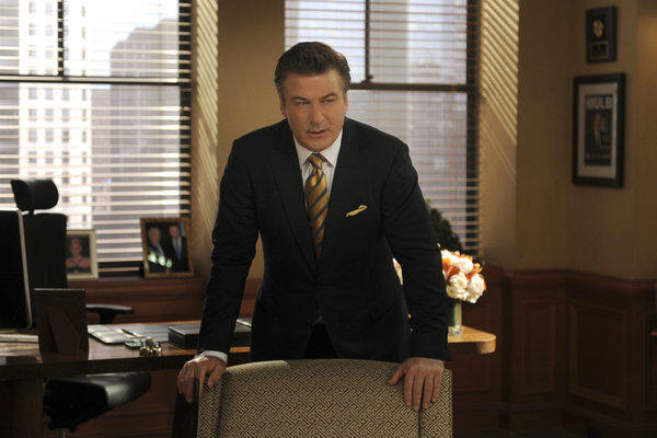 "Alec Baldwin as Jack Donaghy in a scene from ""30 Rock."""