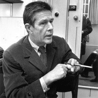 Composer John Cage.