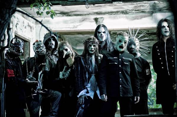 Slipknot performs at Mayhem Festival at First Midwest Bank Amphitheatre on Saturday.