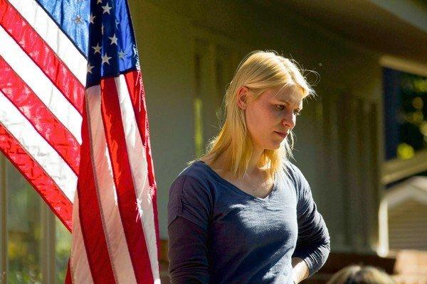 "Claire Danes stars in ""Homeland."""