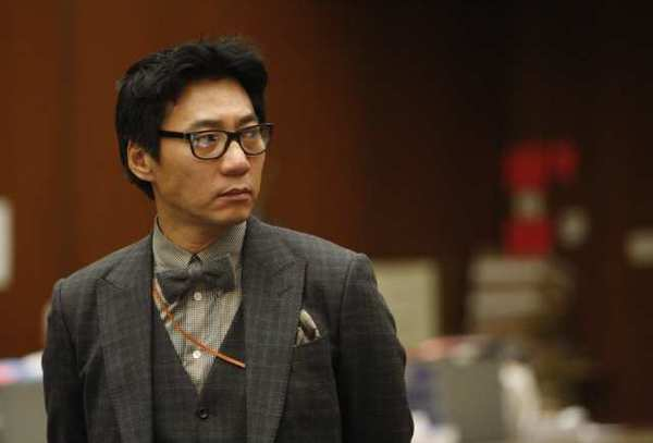Young Lee appears during a court hearing in January.