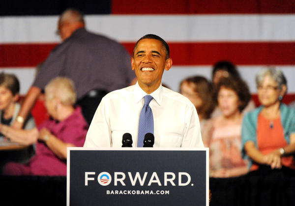President Obama addresses constituents at Century Village in West Palm Beach and kicks off a two-day tour across Florida. President Obama will discuss the choice in this election between two fundamentally different visions of how to grow the economy, create middle-class jobs and pay down the debt. 7/19/12.