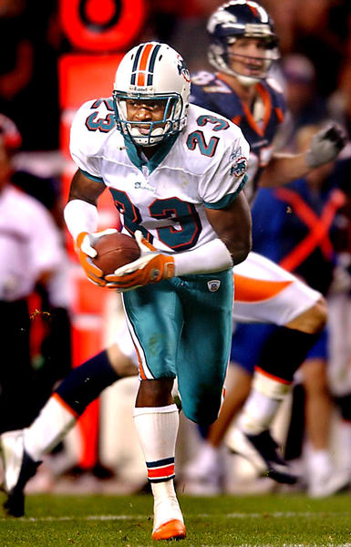First-team All-Pro selection in 2002, the three-time Pro Bowl pick grabbed 29 interceptions in his seven seasons before going to Kansas City.