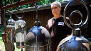 Howard County metal sculptor's talents come through clear as a bell