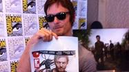 Norman Reedus talks Daryl, 'Walking Dead' at Comic Con