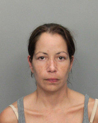 Reina Herrera has been arrested on aburglary charge.