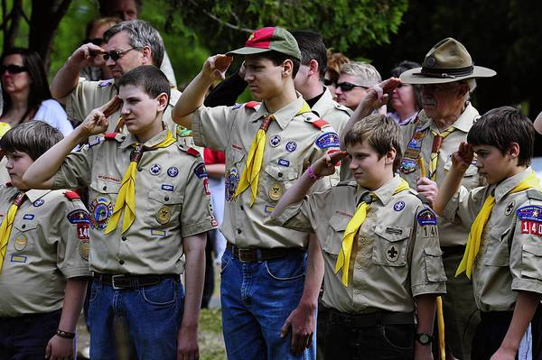The Boy Scouts of America this week re-affirmed the organization's ban on homosexuals.