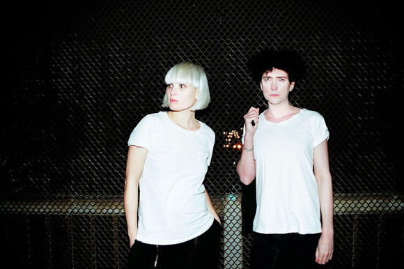 The Raveonettes are Sharin Foo and Sune Rose Wagner.