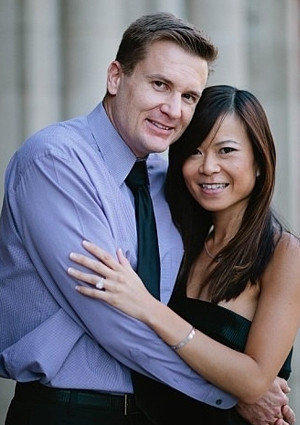 Bradford James Vesely and Lisa Chu