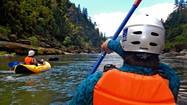 Thrills, chills and a few spills on the Rogue River
