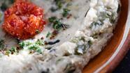 Recipe: Grilled eggplant dip with tahini, yogurt and roasted chiles