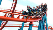 Photos: 25 competitors in the All-England Roller Coaster Olympics