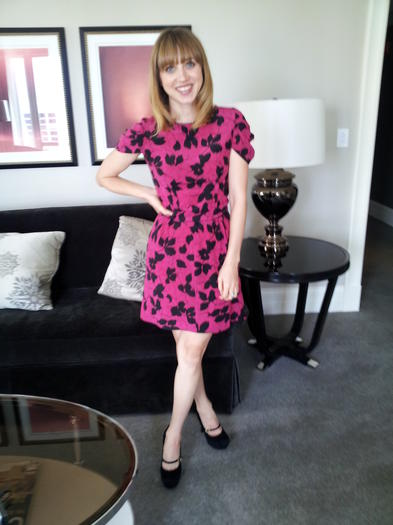 Zoe Kazan at the Waldorf-Astoria Hotel in Chicago