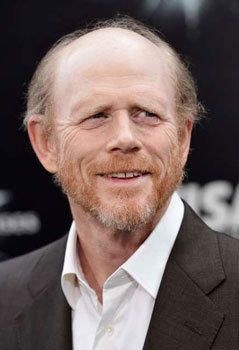 "Ron Howard attends the premiere of ""The Dark Knight Rises"" in New York on Friday."