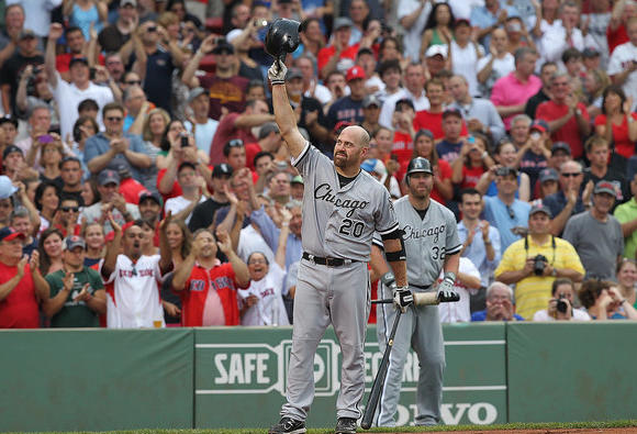 Youkilis returns to Boston