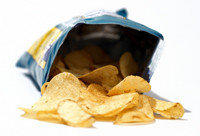 POTATO CHIPS. ONE TIME USE ONLY. HEALTH SECTION JULY 21, 2012.
