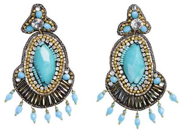 Suzanna Dai beaded earrings.