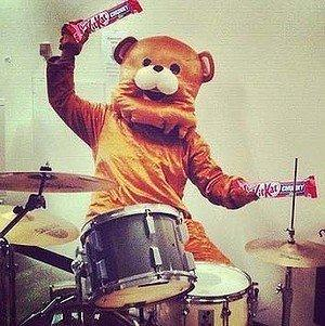 This inaugural Instagram photo on Kit Kat's Facebook page drew comparisons to Pedobear, an Internet meme.
