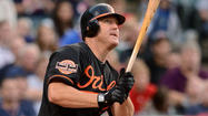 Jim Thome hadn't hit a homer in his first 11 games with the Orioles.