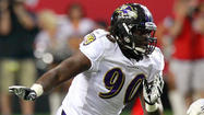 Ravens camp competition: Defensive end
