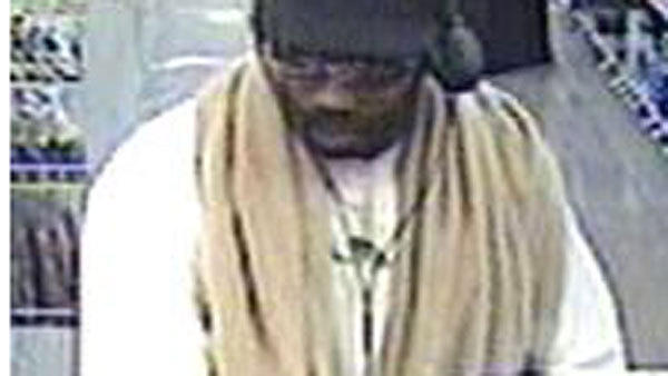 Police: Bank robbery suspect hands dye pack back to teller