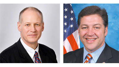 U.S. Reps. Mark Critz and Bill Shuster