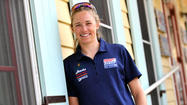 Smooth sailing for Olympic windsurfer Farrah Hall of Annapolis