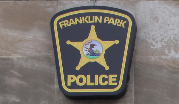 Franklin Park police logo.