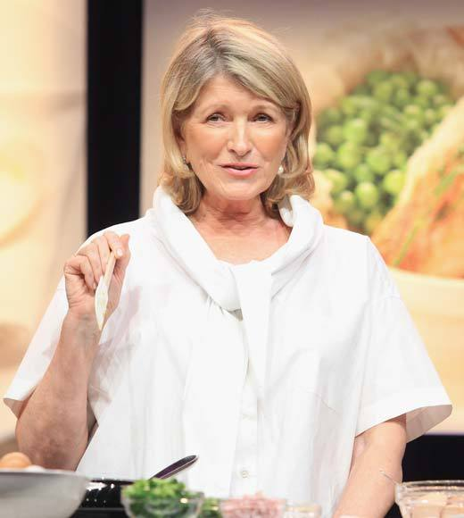 """It's hard to teach knife skills if you're not physically with a person."" -- <b>Martha Stewart</b>"
