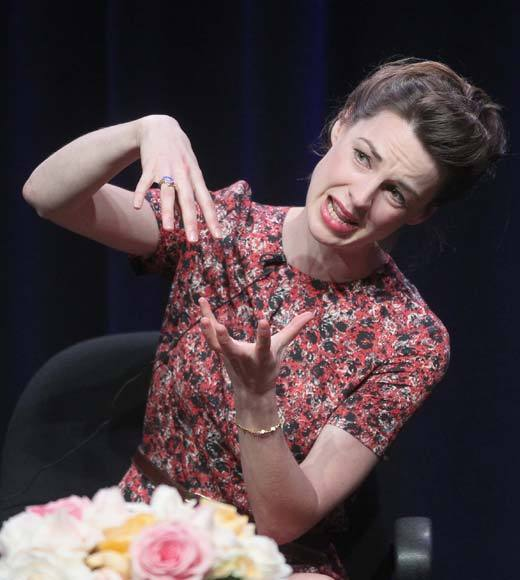 Overheard at 2012 Summer TV Press Tour: We got one baby with a detachable willy so it can be a boy or a girl baby. -- Jessica Raine on the prosthetic babies on set
