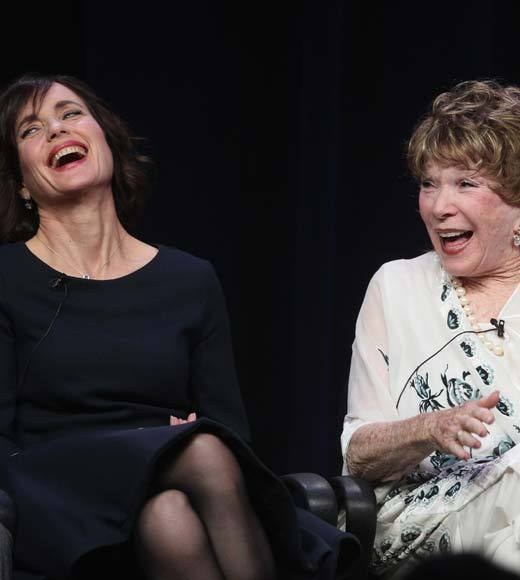 "<b>Elizabeth McGovern</b>: ""I'm a raving lunatic.""<br><b>Shirley MacLaine</b>: ""She's right."""