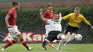 AS Roma seemed to feel right at home in Wrigley Field's friendly confines Sunday.