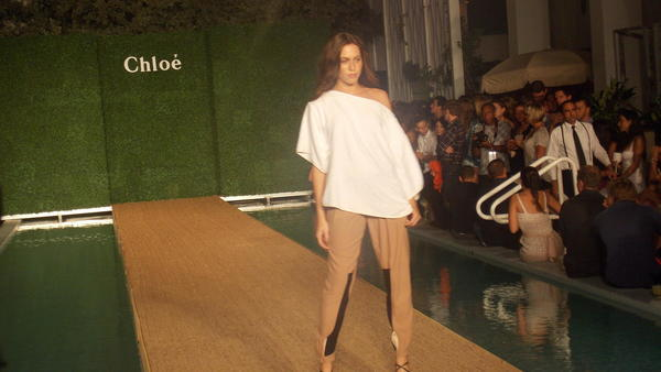 The Chloe Spring 2013 collection debuted at the Soho Beach House during Mercedes-Benz Fashion Week Swim
