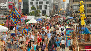 Artscape ends with weekend's biggest crowds