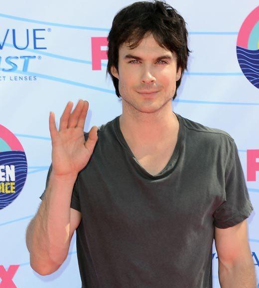 2012 Teen Choice Awards red carpet arrival pics: Ian Somerhalder