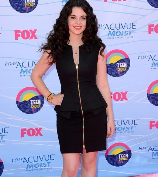 2012 Teen Choice Awards red carpet arrival pics: Vanessa Marano