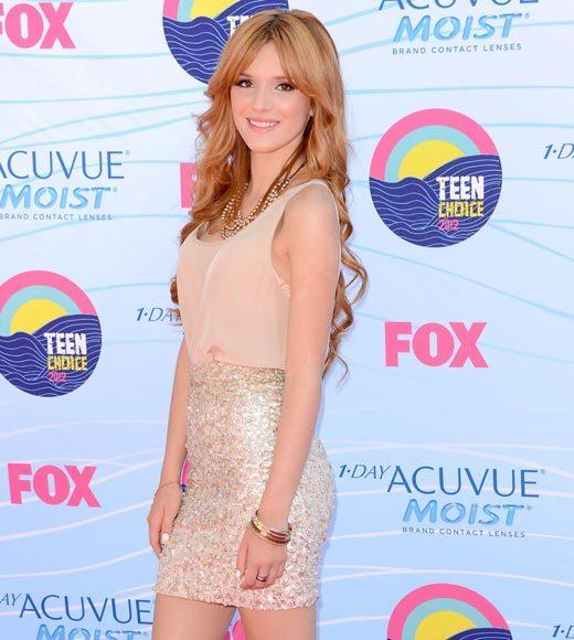 2012 Teen Choice Awards red carpet arrival pics: Bella Thorne