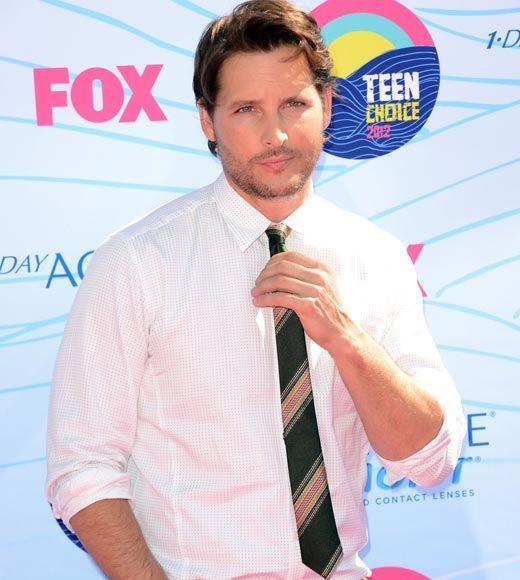 2012 Teen Choice Awards red carpet arrival pics: Peter Facinelli
